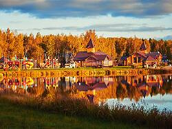 Коттеджный поселок «Лесные Озера» Готовые дома с коммуникациями.